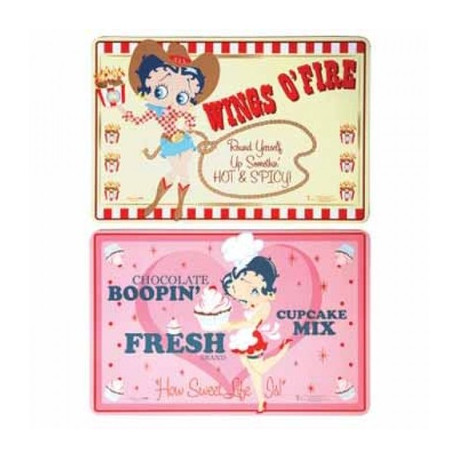Placemat Betty Boop - set of 2