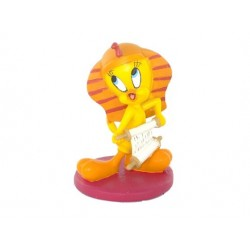 Estatuilla egipcia Tweety