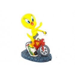 Figurine Tweety bike