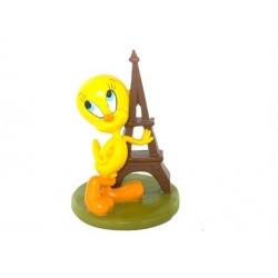 Estatuilla de Tweety torre de Eiffel