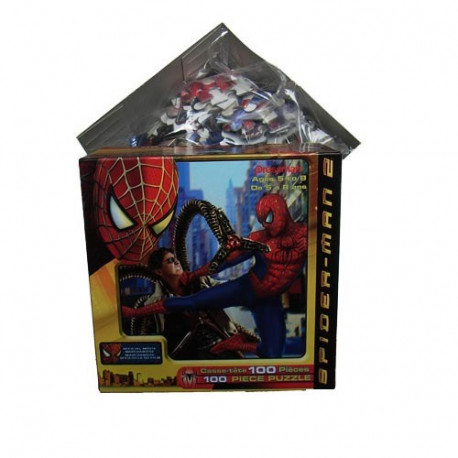 Spiderman Puzzle 100 pieces