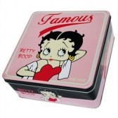 Box metal Betty Boop Famous