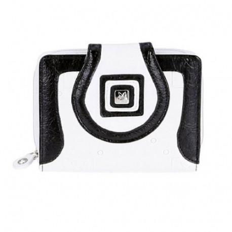Playboy White & Black GM purse