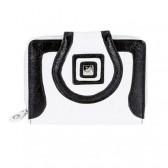 Porte monnaie Playboy White & Black GM