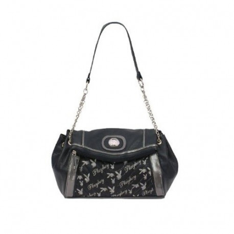 Bag shoulder Playboy Soulfoul Black