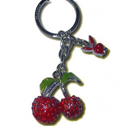 Porte clés Playboy cerise