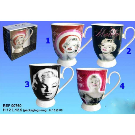 Mazagran Marilyn Monroe - Numéro de Modèle : Modèle n°1