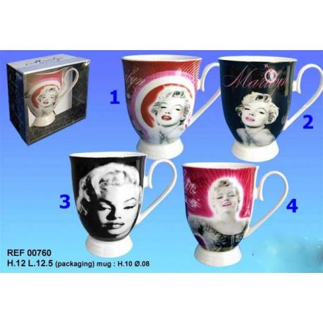 Mazagran Marilyn Monroe - Numéro de Modèle : Modèle n°4