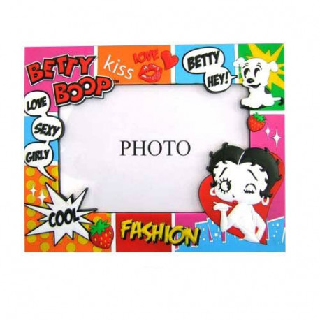 Cadre photo Betty Boop Comics
