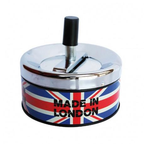 LONDON metal ashtray