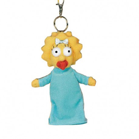 Keyring plush Maggie Simpsons