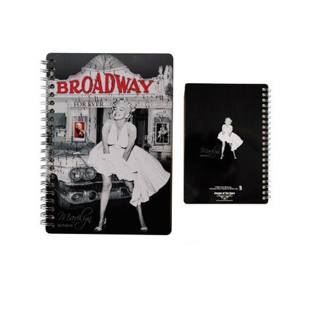 Carnet d'adresses A5 Marilyn Broadway
