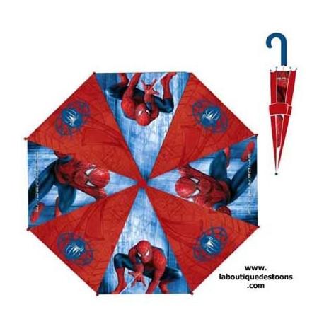 Roter Spiderman Regenschirm