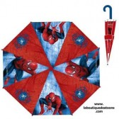 Parapluie Spiderman rouge