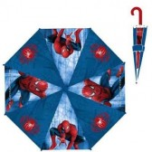 Ombrello Spiderman blu