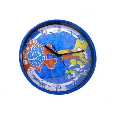 Bart Skate Reloj de pared