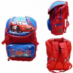 Backpack Cars 42 CM blue premium