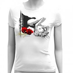 Stella Marilyn Monroe Rosa Tee Camicia - Taglia: XL