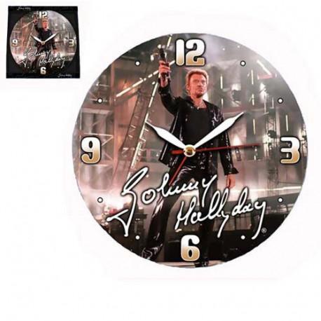 Johnny Hallyday Concert Pendule
