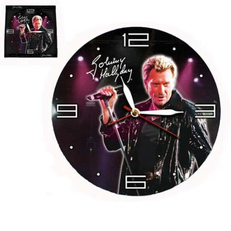 Cantante Johnny Hallyday de péndulo