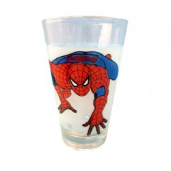 Conical glass Spiderman
