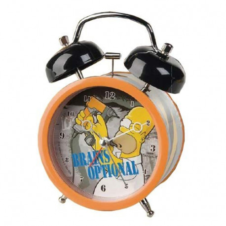 Manitas de Homer Simpsons reloj despertador