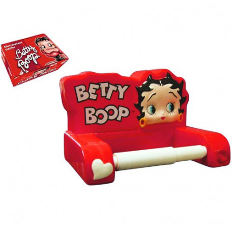d rouleur papier wc betty boop rouge la boutique des toons. Black Bedroom Furniture Sets. Home Design Ideas