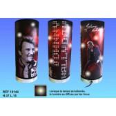 Lámpara de concierto Johnny Hallyday