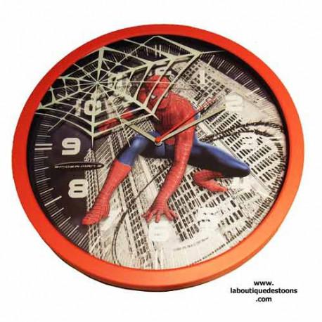 Pendule murale spiderman