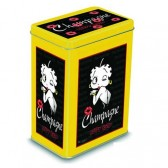 Betty Boop caja de la lata