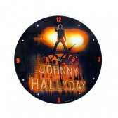 Pendule Johnny Hallyday Rock Star