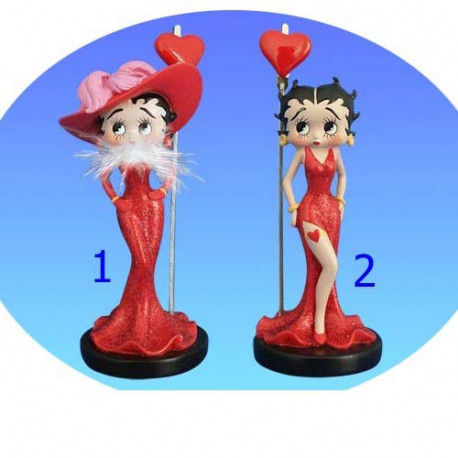 Porte photo Betty Boop robe rouge - Numéro de Modèle : Modèle n°1