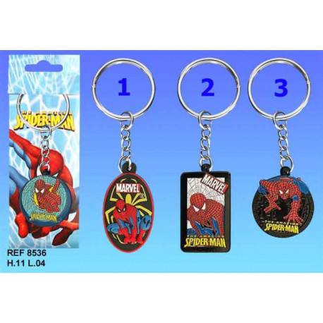 Keyring Spiderman - model number: model n ° 1