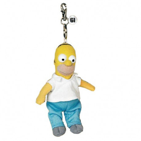 Keyring plush Homer Simpsons