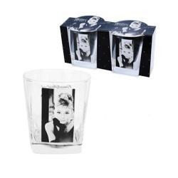 Audrey Hepburn Whisky Set de 2 cristales