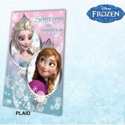Fleece deken bevroren van de sneeuw koningin