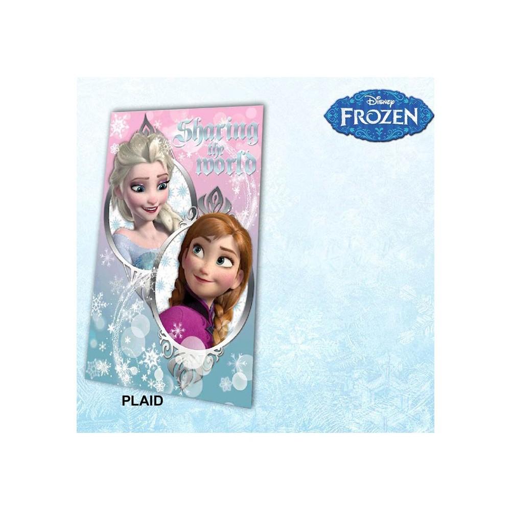 plaid polaire frozen la reine des neiges. Black Bedroom Furniture Sets. Home Design Ideas