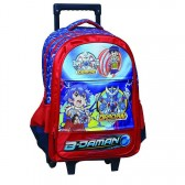 Cartable à roulettes B-Daman 43 CM Trolley