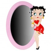 Statuette Betty Boop Argent PIN UP