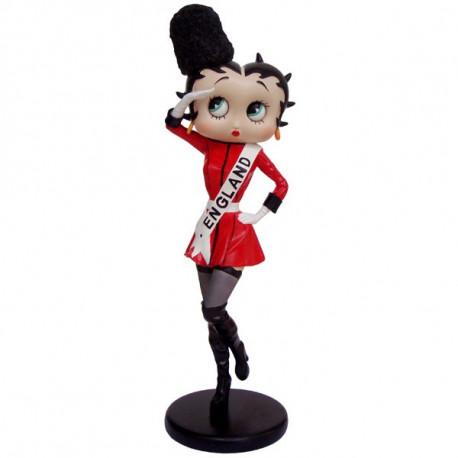 Statuette Betty Boop Chaise Tenue noire