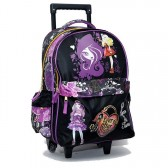 Cartable à roulettes Ever After High 43 CM Trolley