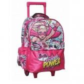 Cartable à roulettes Barbie Princess Power 43 CM Trolley