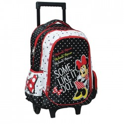 Bookbag skateboard Minnie Mouse 43 CM Trolley
