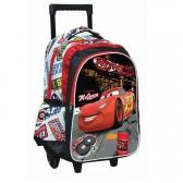 Sac à roulettes Cars Nitro Disney 43 CM HAUT DE GAMME - Cartable