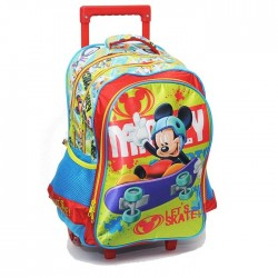 Rolling Backpack Mickey Mouse 43 CM