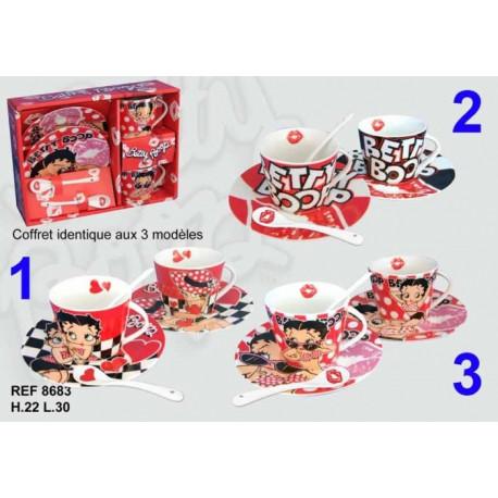 Coffret 2 tasses Betty Boop Cinéma