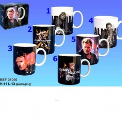 Taza de Johnny Hallyday Legend