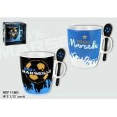 Mug + cuillère 100% Marseille