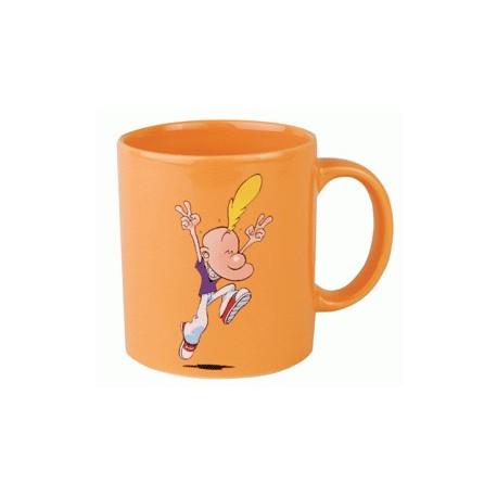 Mug Titeuf Jump orange