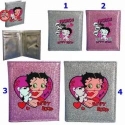 Betty Boop rechthoek H portemonnee